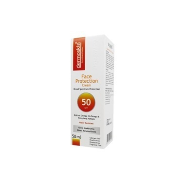 Dermoskin DERMOSKIN Face Protection SPF50 50 ml Renksiz